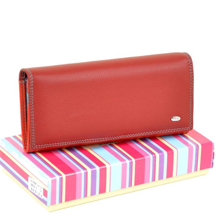Яркий женский кошелёк «Dr.Bond» в классическом стиле из мягкой кожи купить. Цена 699 грн