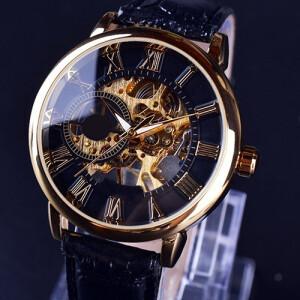 Механические часы-скелетоны «Winner» с ручным заводом купить. Цена 899 грн