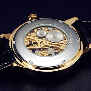 Механические часы-скелетоны «Winner» с ручным заводом фото 1
