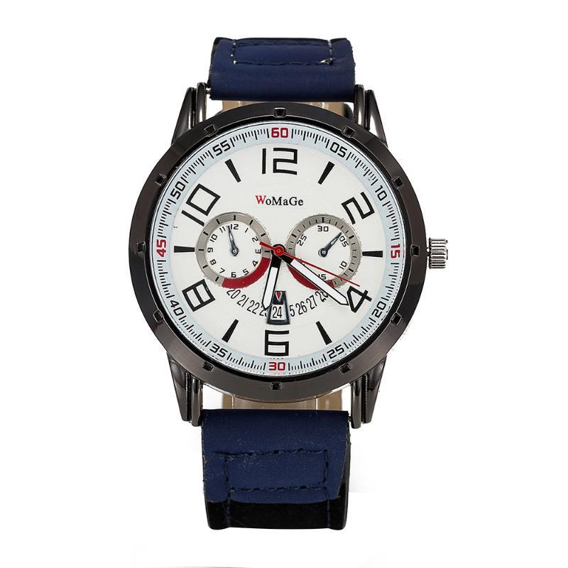 Недорогие часы «WoMaGe» в спортивном стиле с двухцветным ремешком купить. Цена 299 грн