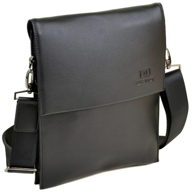 Ультратонкая мужская сумка «Bretton» из высококачественной мягкой натуральной кожи купить. Цена 1890 грн