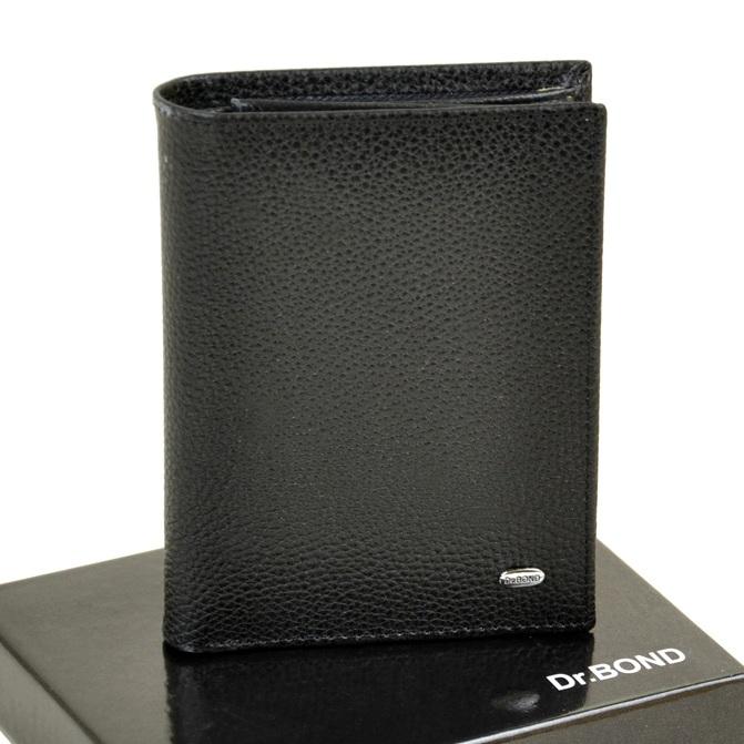 Вертикальное портмоне «Dr.Bond» с магнитной застёжкой из натуральной кожи купить. Цена 685 грн