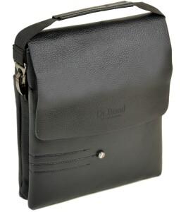 Среднего размера мужская сумка «Dr.Bond» из экокожи с текстурой флотар купить. Цена 599 грн
