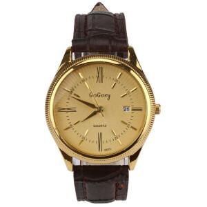Солидные мужские часы «GoGoey» в ретро-стиле с римскими цифрами и датой купить. Цена 365 грн