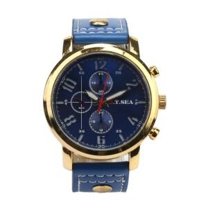 Красивые мужские часы «O.T.SEA» с синими циферблатом и ремешком купить. Цена 299 грн