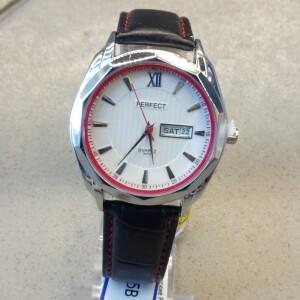 Повседневные часы «Perfect» с полным календарём и чёрным ремешком купить. Цена 880 грн