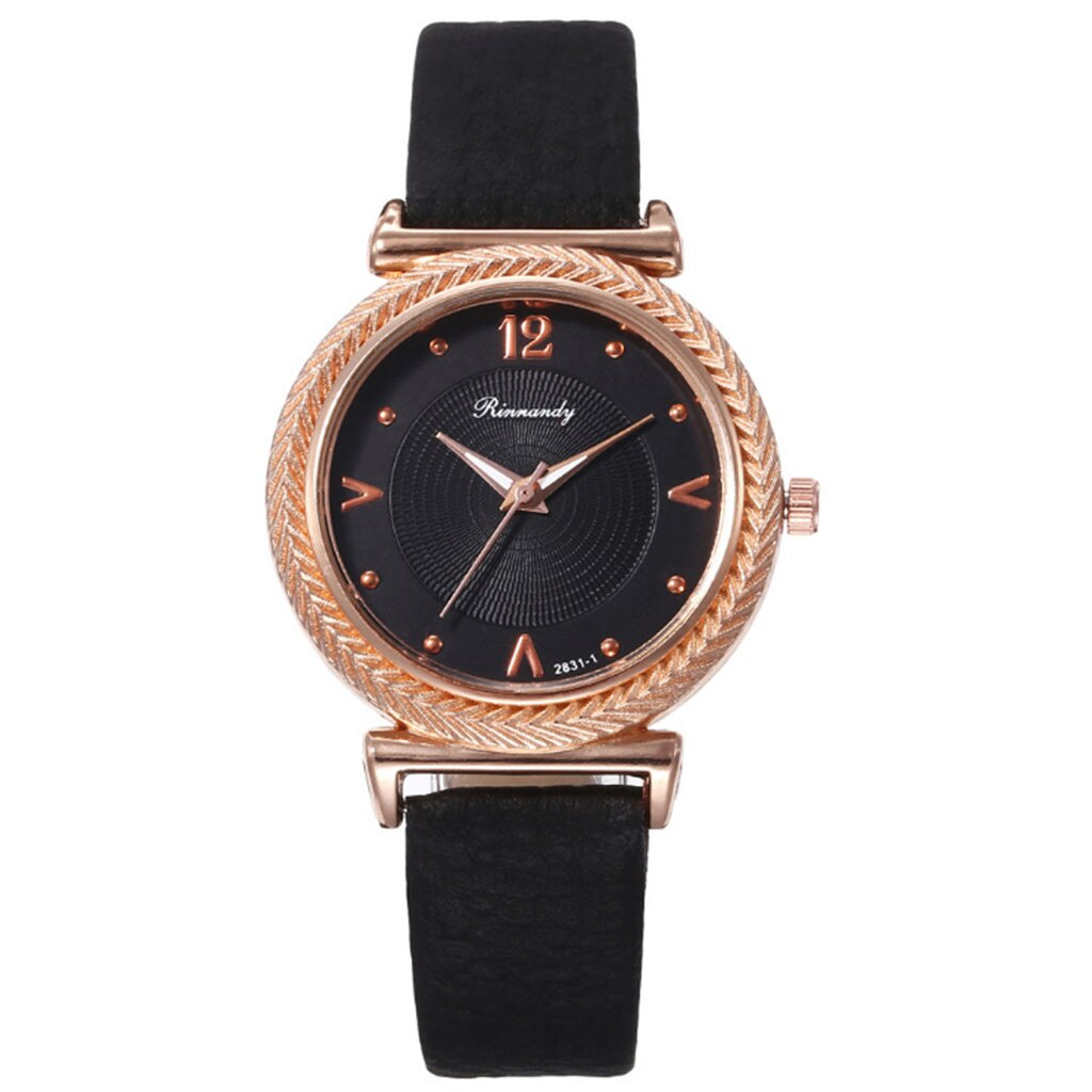 Необыкновенные женские часы «Rinnandy» с красивым корпусом золотого цвета купить. Цена 345 грн