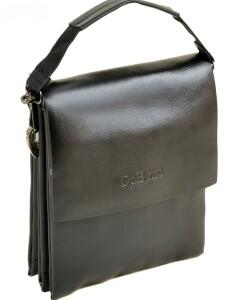 Гладкая мужская сумка «Dr.Bond» из искусственной кожи с клапаном на магнитах купить. Цена 565 грн