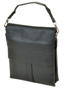 Недорогая мужская сумка «Dr.Bond» из фактурной экокожи с клапаном на магнитах купить. Цена 499 грн