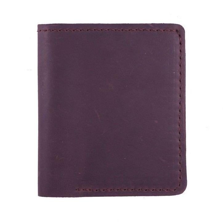 Карманный кошелёк «Turtle» из натуральной кожи «crazy horse» купить. Цена 375 грн