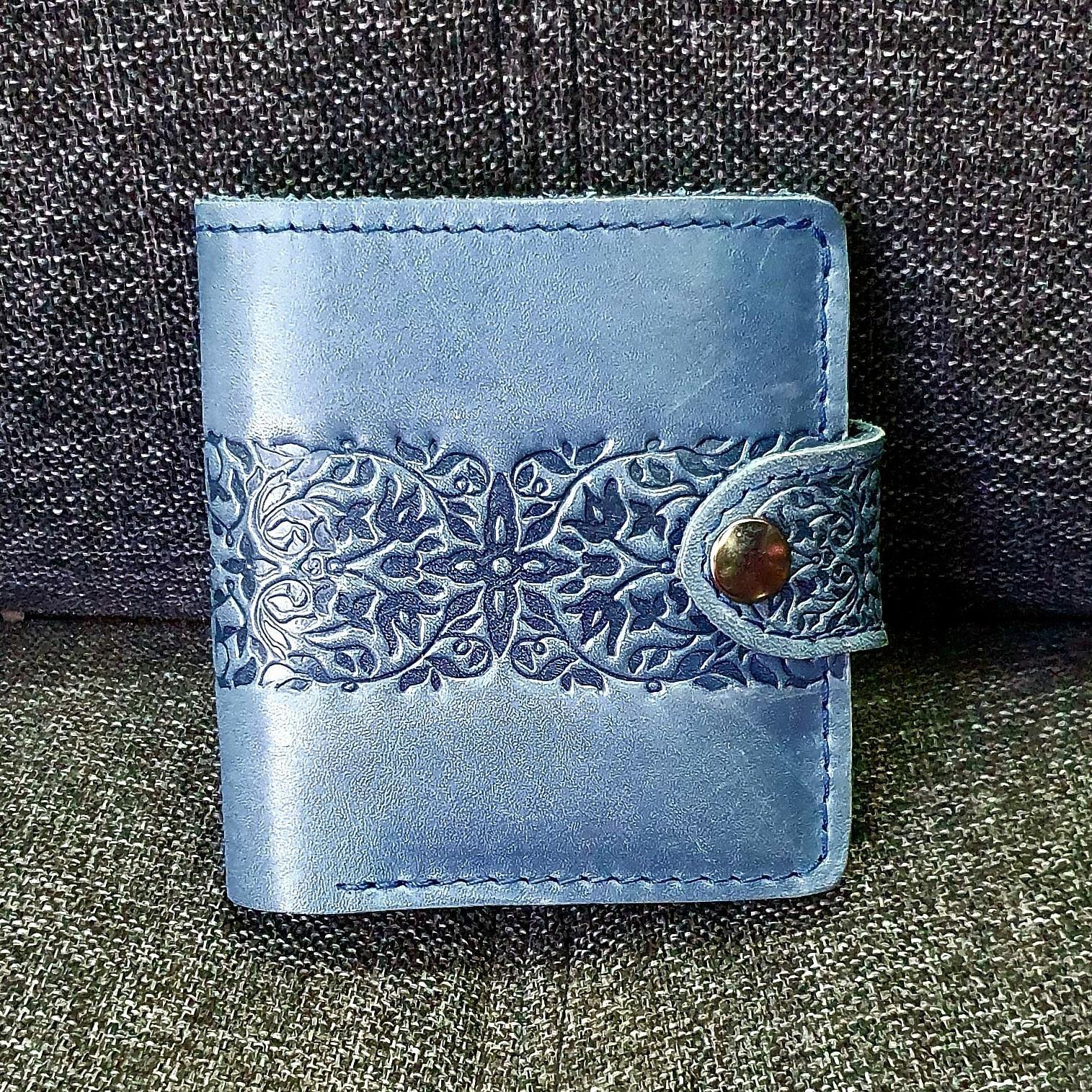 Красивый кошелёк «Turtle» из натуральной кожи работы украинских мастеров купить. Цена 845 грн