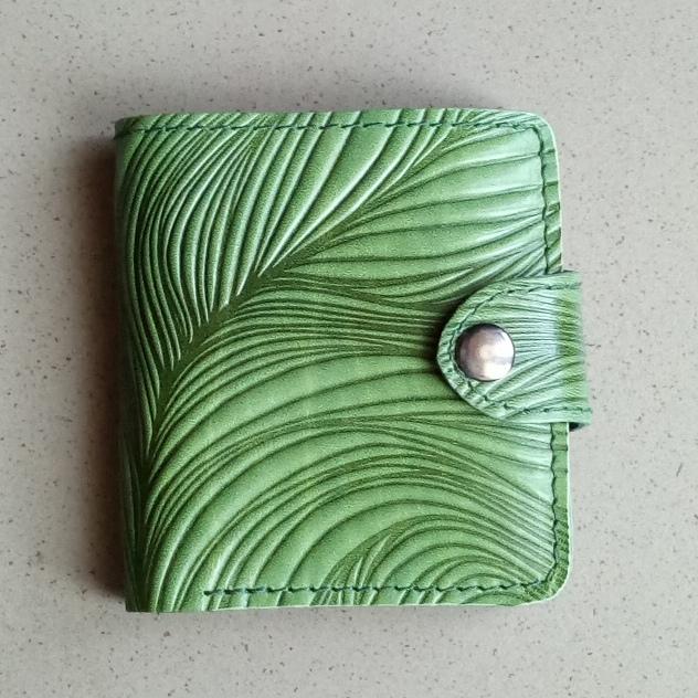 Эксклюзивный кошелёк «Turtle» из натуральной кожи ручной работы купить. Цена 875 грн