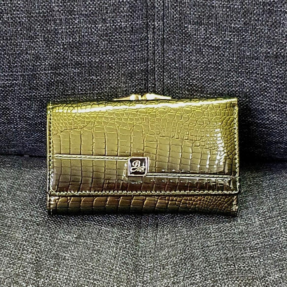 Лаковый кожаный кошелёк «Balisa» небольшого размера в классическом стиле купить. Цена 585 грн