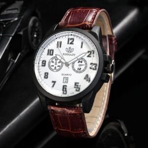 Недорогие часы «Rinnady» с чёрным корпусом и функцией отображения даты купить. Цена 275 грн