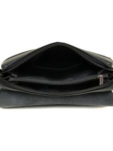 Небольшая мужская сумка «Dr.Bond» из зернистой экокожи с кожаным клапаном фото 2