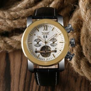 Эффектные мужские часы «Jaragar» c механическим механизмом с автоподзаводом купить. Цена 1990 грн