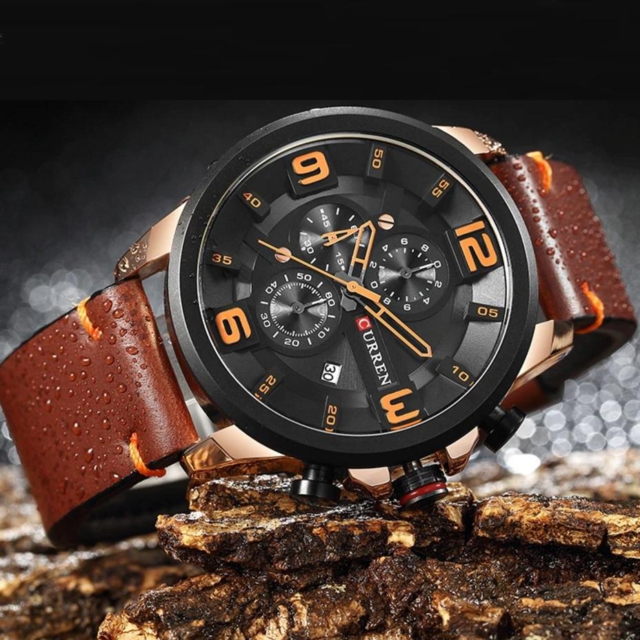 Популярные часы «Curren» в спортивном стиле с объёмным циферблатом купить. Цена 1490 грн
