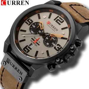 Брутальные мужские часы «Curren» с активными дополнительными циферблатами купить. Цена 1490 грн