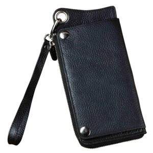 Компактный мужской клатч-кошелёк «Westal» шоколадного цвета из натуральной кожи купить. Цена 990 грн