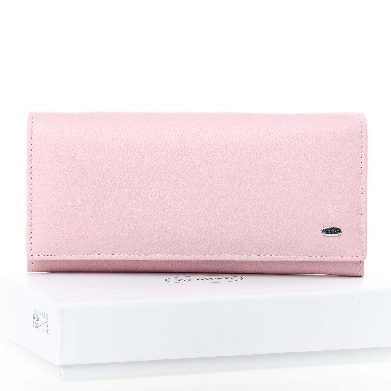 Нежный кошелёк «Dr.Bond» из качественной натуральной кожи розового цвета купить. Цена 699 грн