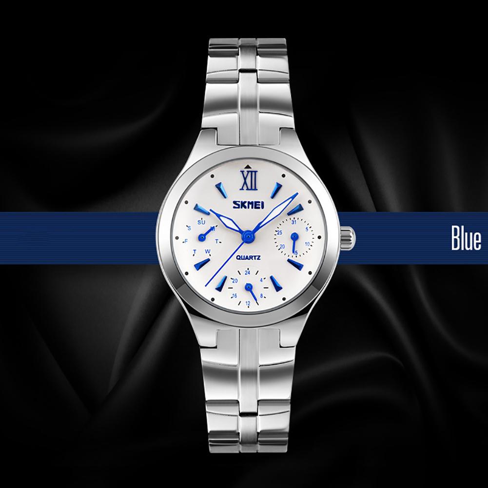 Металлические наручные часы «Skmei» с функцией полного календаря купить. Цена 890 грн