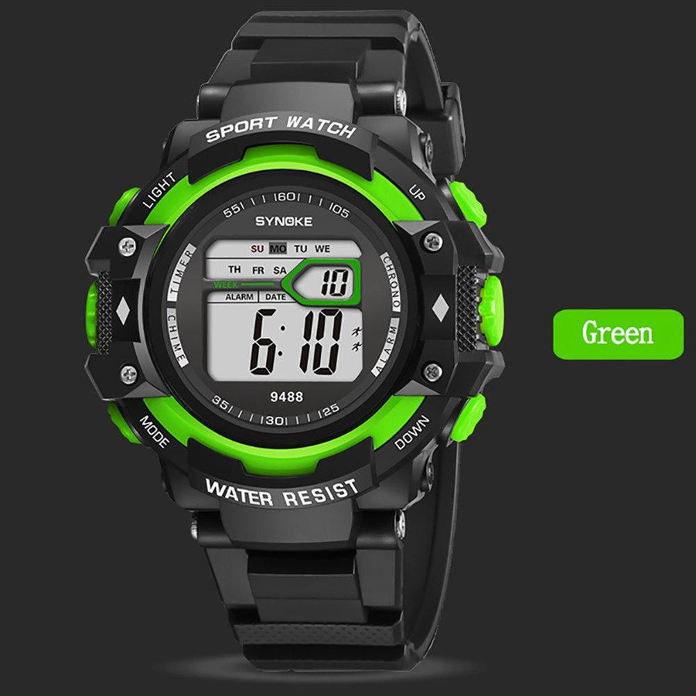 Электронные наручные часы «Synoke» с подсветкой и будильником купить. Цена 335 грн