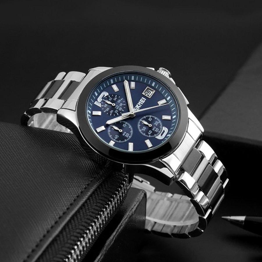 Стильные часы «SKMEI» с многофункциональным кварцевым механизмом купить. Цена 1190 грн