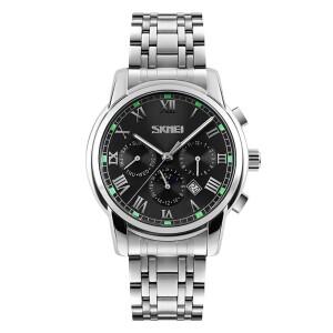 Стильные часы «SKMEI» с полным календарём и красивым браслетом купить. Цена 1290 грн