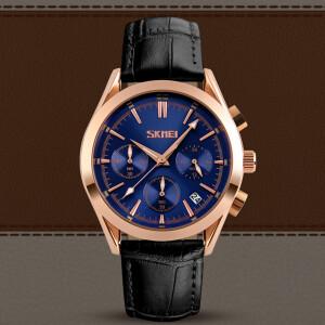 Отличные мужские часы «SKMEI» в классическом стиле с хронографом купить. Цена 999 грн