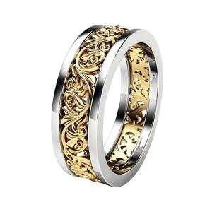 Интересное кольцо из медицинской стали с ажурным рисунком купить. Цена 199 грн