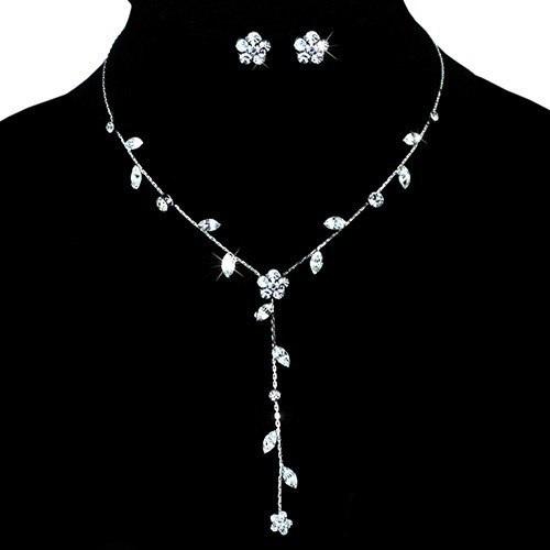 Очаровательный комплект «Милашка» с маленькими серёжками и длинным ожерельем купить. Цена 165 грн