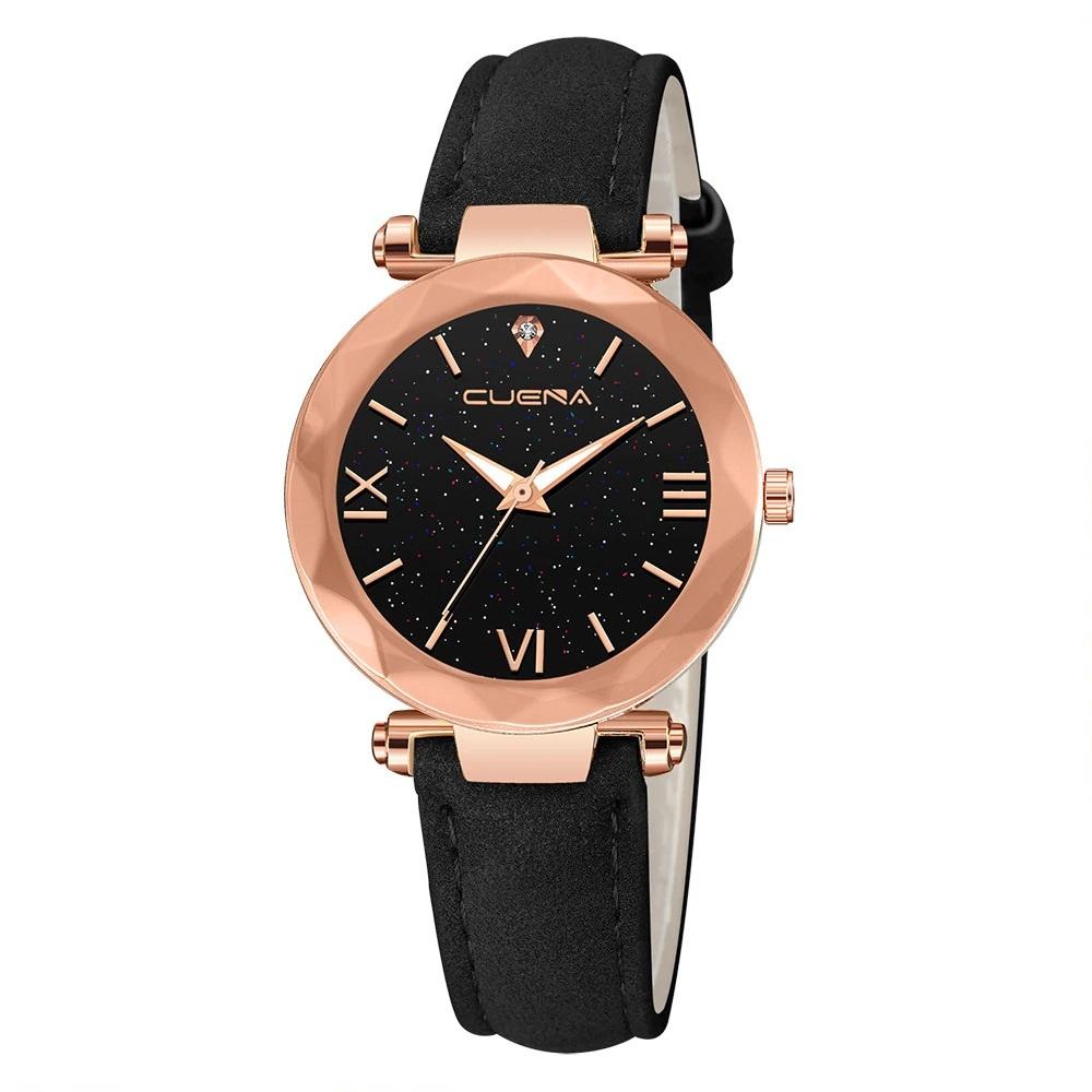 Популярные наручные часы «Cuena» с красивым корпусом золотого цвета купить. Цена 299 грн