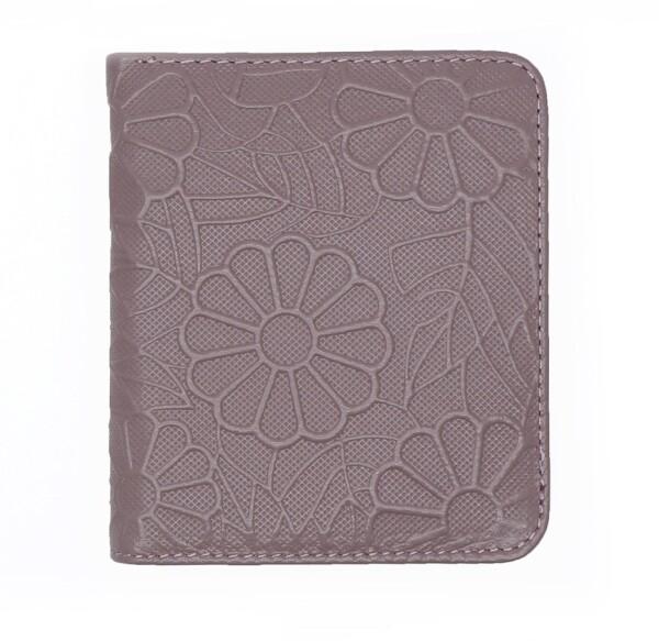 Тончайший женский кошелёк «Western» из глянцевой кожи с красивым узором купить. Цена 499 грн