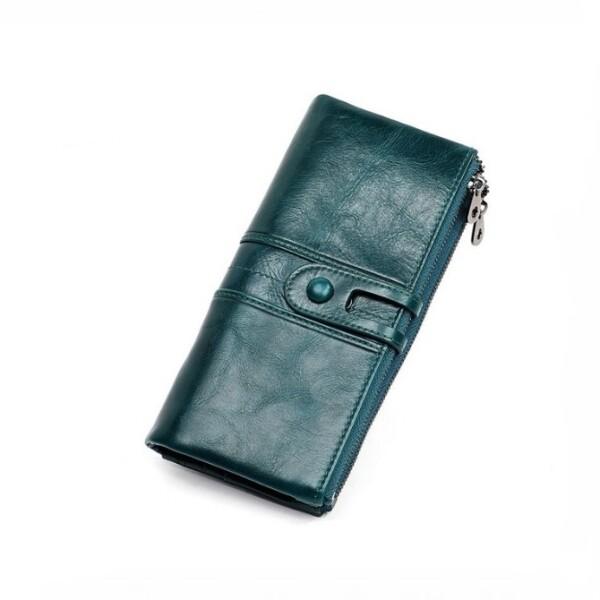 Очаровательный кошелёк «Joyir» из глянцевой кожи тёмно-синего цвета купить. Цена 899 грн