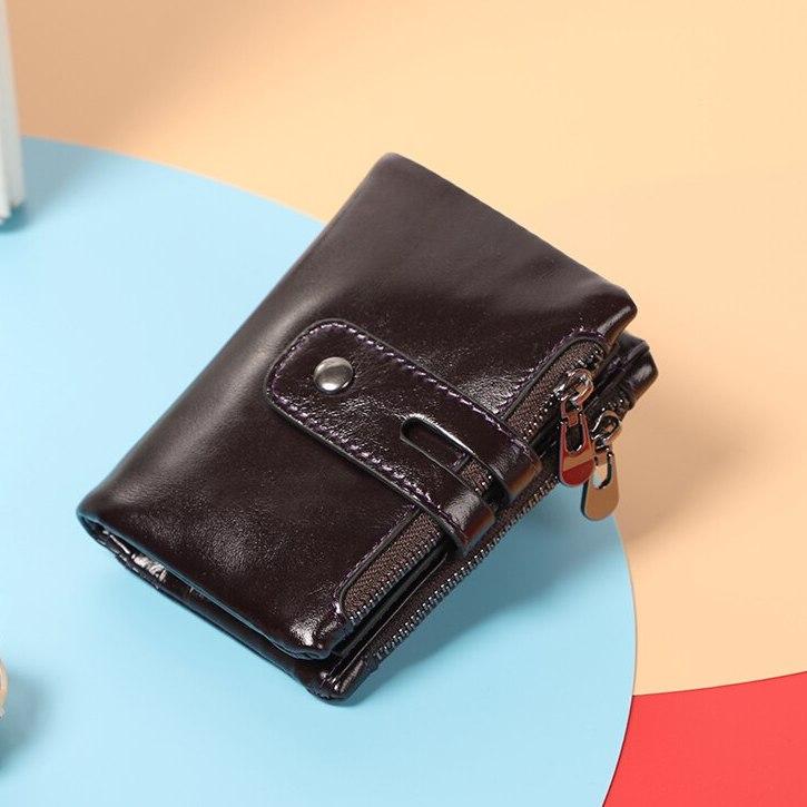 Мягкий кошелёк «Dicihaya» небольшого размера из качественной кожи купить. Цена 785 грн