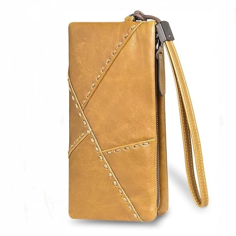 Брутальный мужской клатч-кошелёк «Dicihaya» из мягкой глянцевой натуральной кожи купить. Цена 899 грн