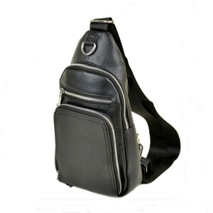 Удобная мужская сумка «Dr.Bond» из качественной искусственной кожи чёрного цвета купить. Цена 499 грн