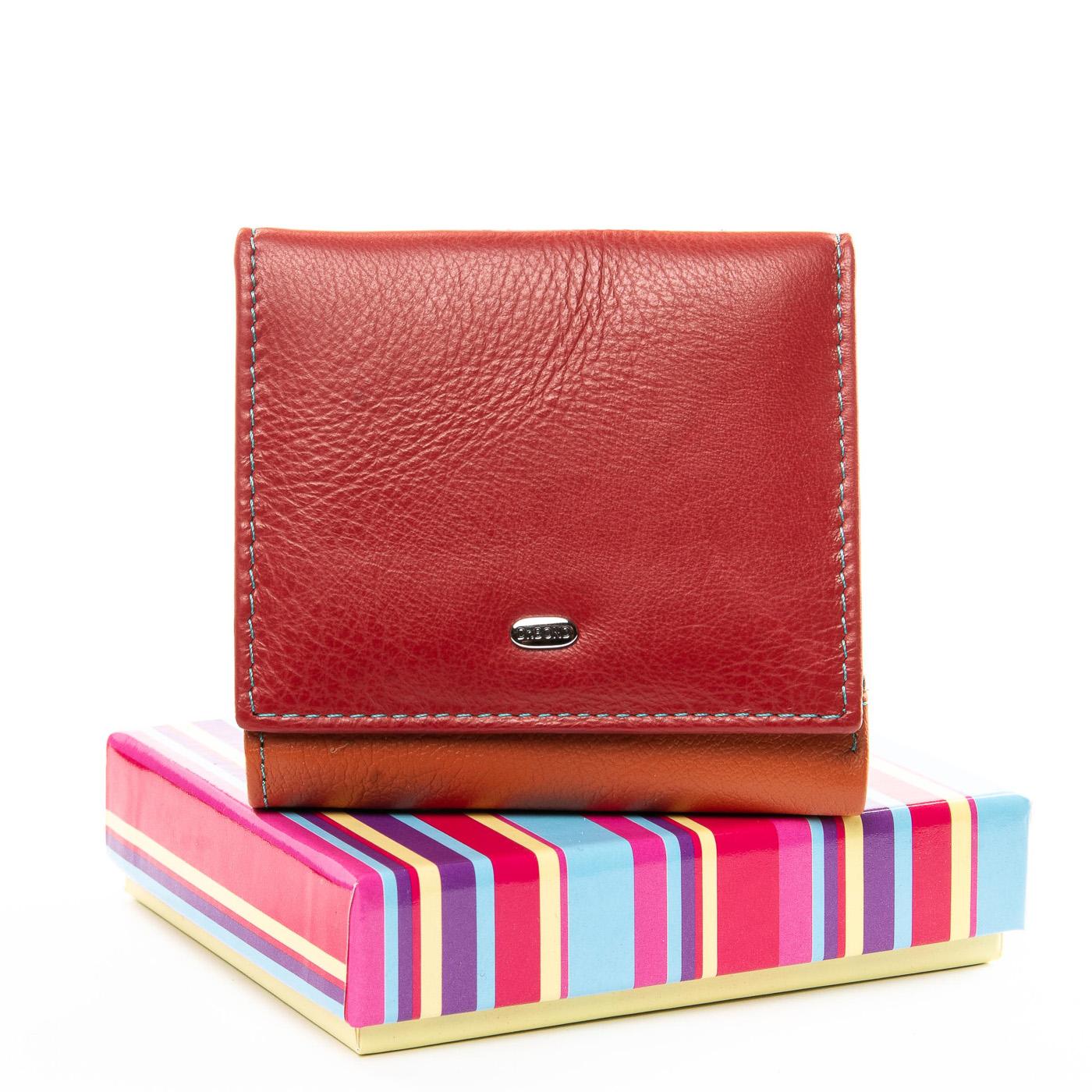 Компактный кошелёк «Dr.Bond» яркой расцветки из качественной кожи купить. Цена 599 грн