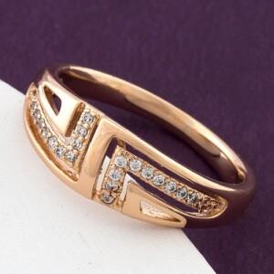 Повседневное кольцо «Импульс» от производителя Xuping купить. Цена 155 грн