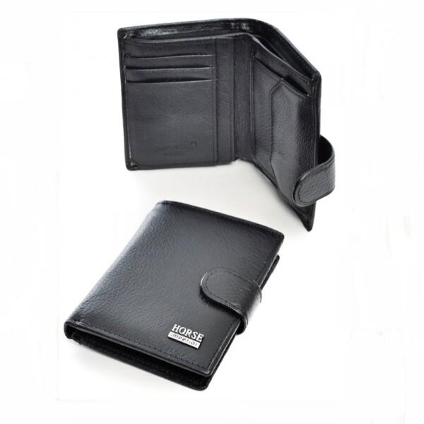 Классический бумажник «Imperial Horse» из кожи в вертикальном раскладе купить. Цена 475 грн