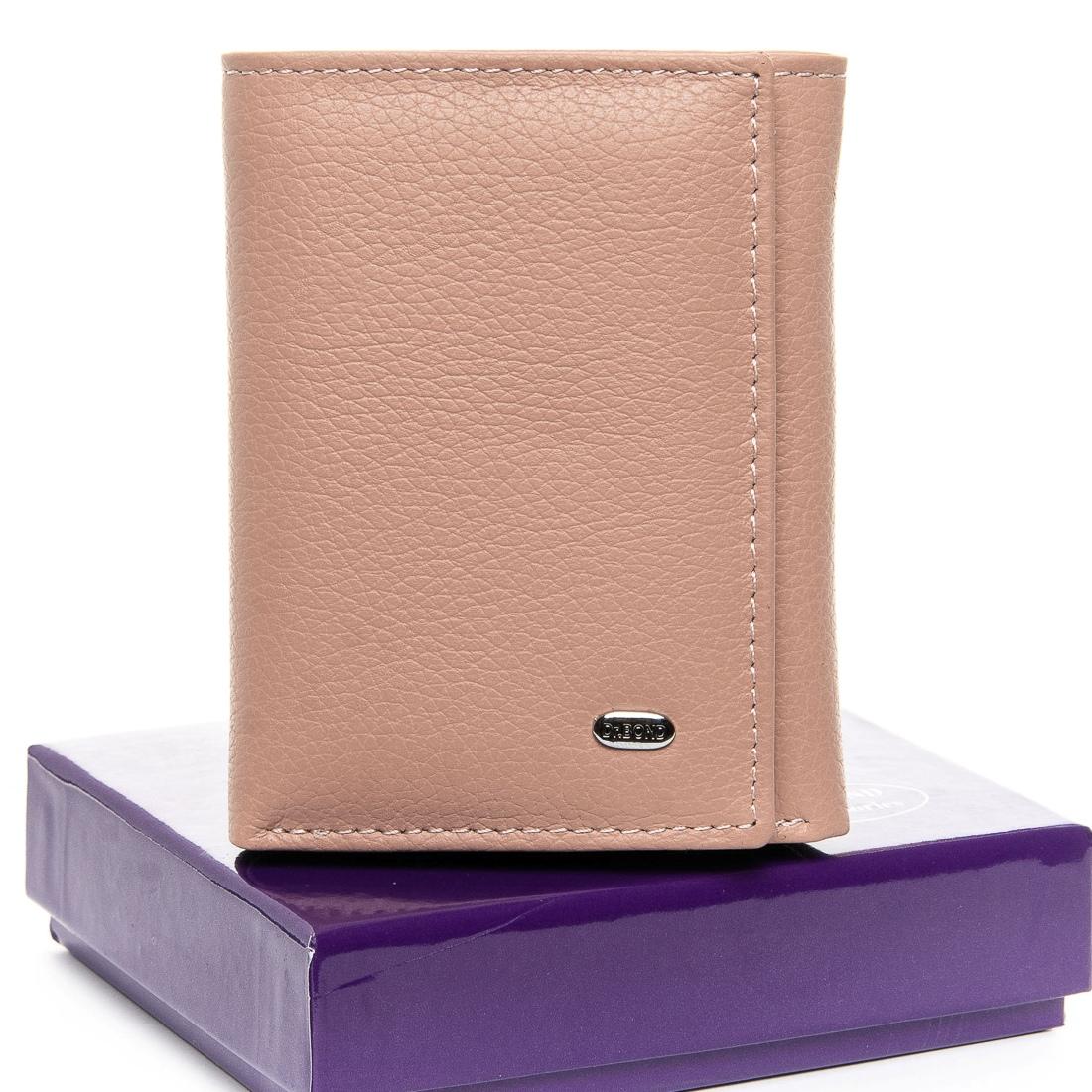 Милый кошелёк «Dr.Bond» из мягкой кожи приятного розового цвета купить. Цена 585 грн