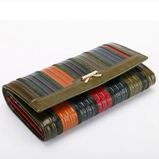 Элитный кошелёк «Baerrilly» из тонкой масляной кожи разных цветов купить. Цена 1098 грн