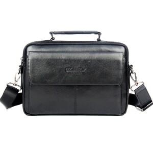 Горизонтальная сумка «Cheer Soul» среднего размера из качественной натуральной кожи купить. Цена 1770 грн