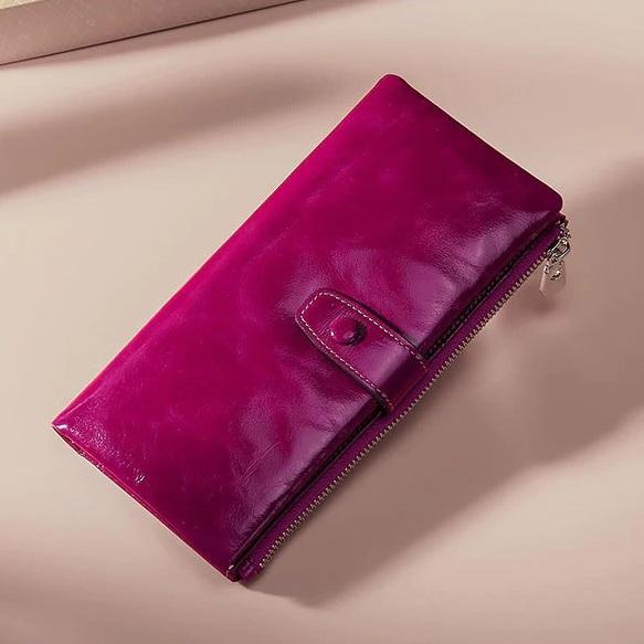 Незабываемый кошелёк «Joyir» изумительного цвета из тонкой масляной кожи купить. Цена 865 грн