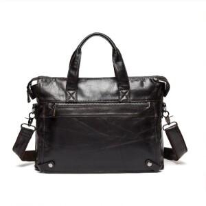 Деловой мужской портфель «Westal» в винтажном стиле из мягкой масляной кожи купить. Цена 2390 грн