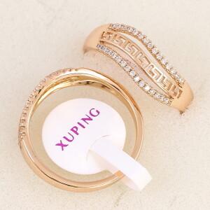 Отличное кольцо «Дардания» с греческой дорожкой между рядами страз купить. Цена 175 грн