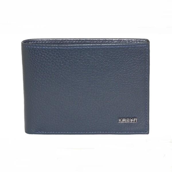 Тонкий мужской бумажник «Karya» без застёжки из натуральной кожи купить. Цена 899 грн