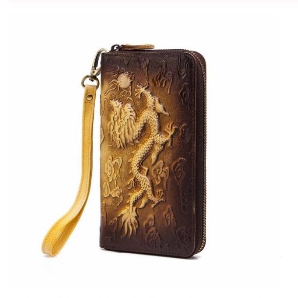 Необычный мужской клатч «Westal» ручной работы из натуральной кожи купить. Цена 1195 грн