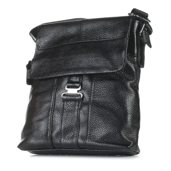 Крупная мужская сумка «Laras» из мягкой крупнозернистой кожи флотар купить. Цена 1290 грн