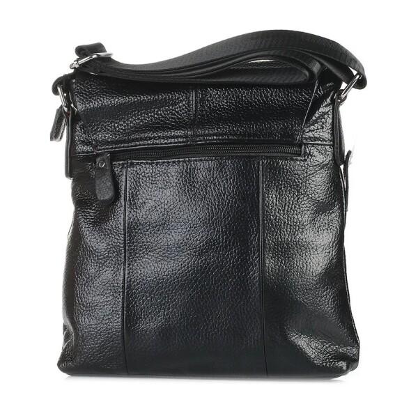 Крупная мужская сумка «Laras» из мягкой крупнозернистой кожи флотар фото 1